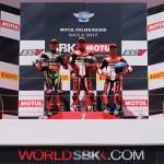 Race1 จัดหนัก Chaz Davies พาทีม Ducati ครอง Double Poldium พร้อมดราม่าธงสีแดง