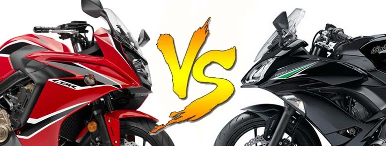 CBR650F VS Ninja650