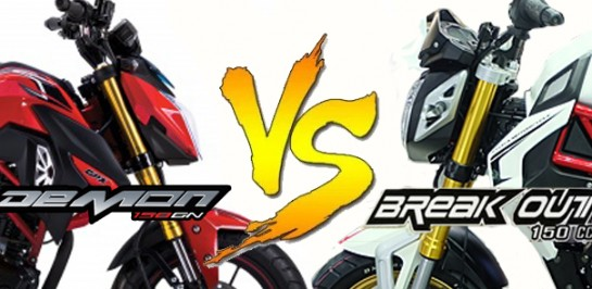 ศึก mini Sport Bike GPX Demon 150GN VS Ryuka Breakout 150