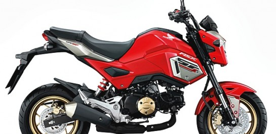 รีวิว 2017 New Honda MSX 125SF ABS [SPECS REVIEW]