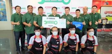 ยามาฮ่ามอบรางวัล ศูนย์บริการสีเขียว (GREEN SERVICE SHOP) ประจำปี 2559 ให้แก่ร้านผู้จำหน่ายที่ผ่านเกณฑ์มาตรฐาน