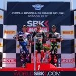 """สรุปผลการแข่งขัน WSBK2017 สนามที่ 7 Misano World Circuit """"Marco Simoncelli """" Race1 และบทวิเคราะห์ในการแข่งขัน Race2"""