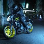 มาชมภาพ New Yamaha MT-03 สีสันใหม่แบบเต็มๆ กัน
