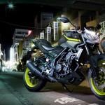 สีใหม่อย่างแจ่มของ Yamaha MT-03