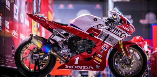 Crankt Protein Honda จัด 2017 Honda CBR 1000RR SP2 ลงสนามที่ Darwin ASBK