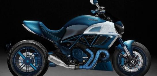Garage Italia เปิดตัว Custom Ducati Diavel คันล่าสุด