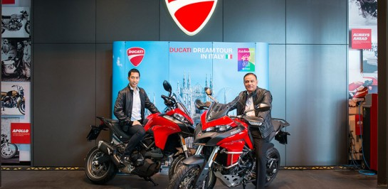 Ducati Dream Tour 2017