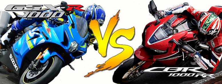 GSX VS CBR X