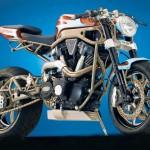 สัตว์ประหลาดข้ามสายพันธุ์ Honda RC51 Powered GC1000 จาก Sport สู่ Street Rod