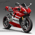 ภาพ CGI Render ใหม่ล่าสุดของ Ducati V4 ออกมายั่วน้ำลาย