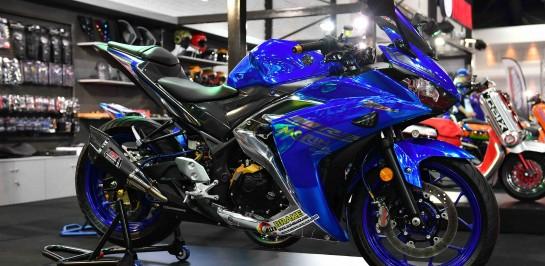 """ยามาฮ่า เปิดมิติใหม่ """"Yamaha Rev Salon"""" นำ 4 ร้านแต่งระดับเทพ โชว์ไอเดียสุดเจ๋งให้สัมผัสแบบเต็มพิกัด  ในงาน Auto Salon 2017"""