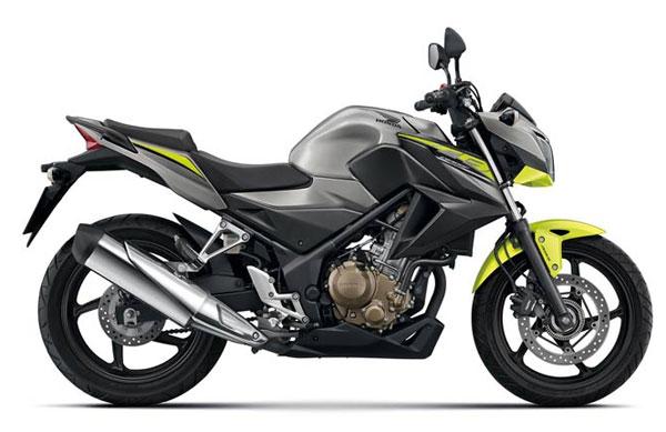 Honda-CB300F-Gray-Yellow
