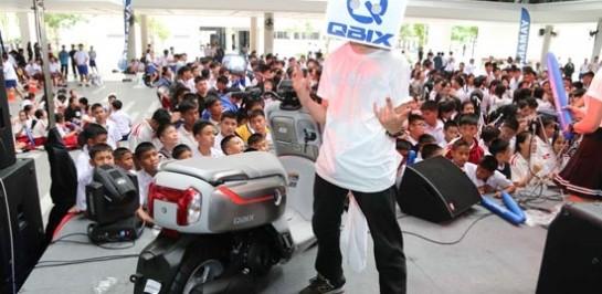 กิจกรรมสุดมันส์ ยามาฮ่าจัด Campus on Tour Yamaha QBIX กิจกรรมสำหรับวัยรุ่นยุคดิจิตอลไลฟ์