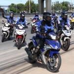 ขบวน YAMAHA EXCITER TOURING ASEAN 2017 เข้าเยี่ยมชมสถาบันขับขี่รถจักรยานยนต์ยามาฮ่า (YRA)