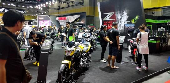 พาเที่ยวบูธ Kawasaki ในงาน Big Motor Sale 2017