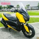 เผยโฉม New Yamaha XMAX 300 2017 ครั้งแรกในประเทศไทย