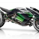 """มาดูรถต้นแบบแนวคิดของ Kawasaki """"J"""" ที่อาจจะเป็นรถพลังงานไฟฟ้าคันแรกที่มีระบบ AI"""