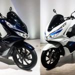 เปิดตัว 2018 Honda PCX Hybrid และ PCX Electric ในงาน Tokyo Motor Show 2017
