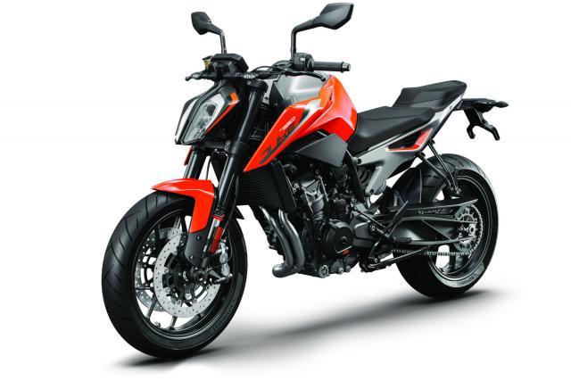 KTM 790 DUKE orange MY18_LeFront