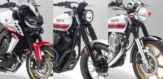 Yamaha ปล่อยชุดแต่งใหม่เอี่ยมของเจ้า MT-09, SCR950 และ SR400