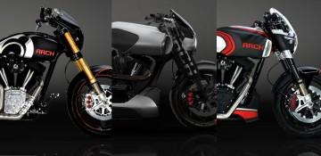 ARCH Motorcycles เปิดตัว 3 โมเดลใหม่ล่าสุด