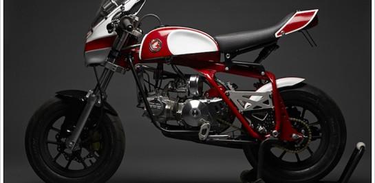 """Honda """"Magnum Z50"""" Café Racer สวยดิบตามวิถี DAVMO MOTO"""