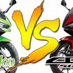 2018 All new Kawasaki Ninja 400 VS 2018 New Honda CBR500R