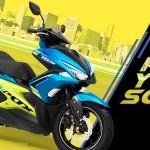 แนะนำ Yamaha Aerox 155 สีใหม่!! New Color of Sportmatic