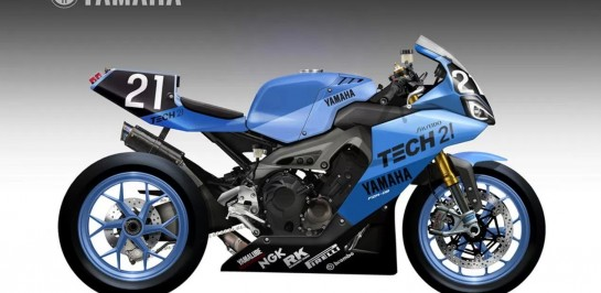 Yamaha YZR-09 Endurance Concept โดย Oberdan Bezzi