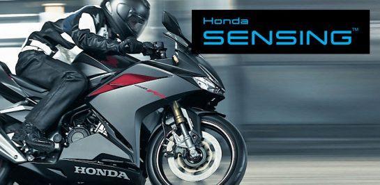 จับตา! ระบบความปลอดภัย Honda SENSING ในรถมอเตอร์ไซค์!!!
