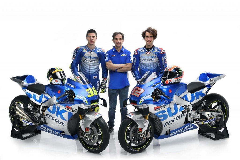 เปิดตัวทีมแข่ง Ecstar Suzuki MotoGP 2020