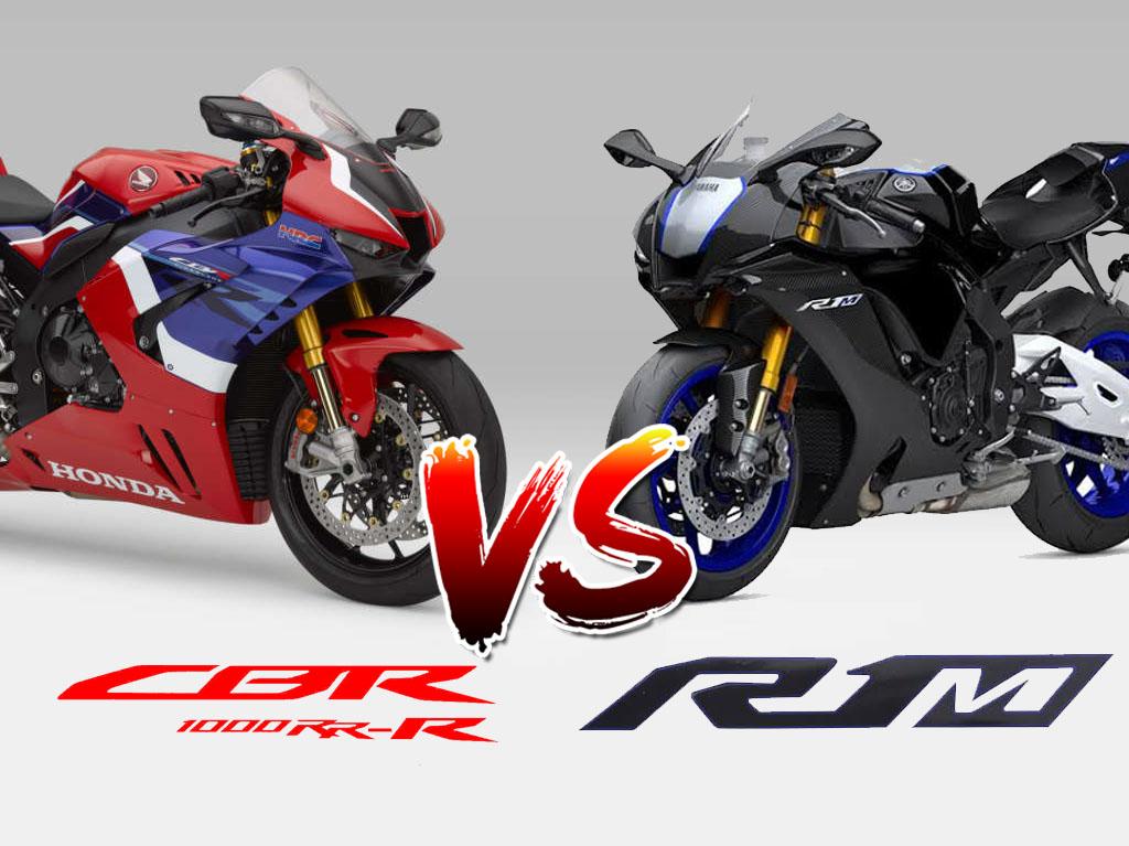 เปรียบเทียบ CBR1000RR-R Sp - ํYamaha YZF-R1M