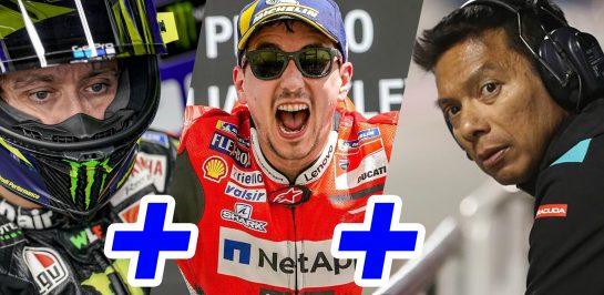 จะเวิร์กไหม Valentino Rossi + Jorge Lorenzo + Petronas