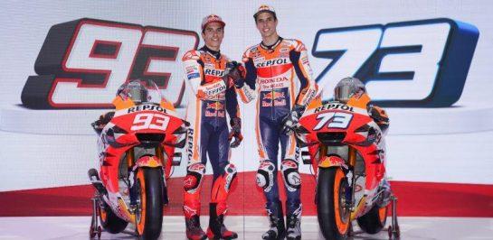Repsol Honda เปิดตัวทีมแข่ง MotoGP20 อย่างเป็นทางการ