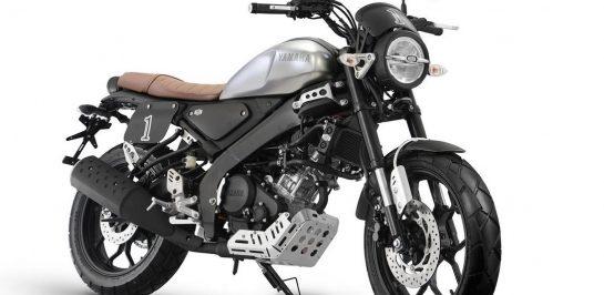 Yamaha Indonesia เปิดตัวชุดแต่ง Tracker และ Cafe Racer สำหรับ Yamaha XSR155