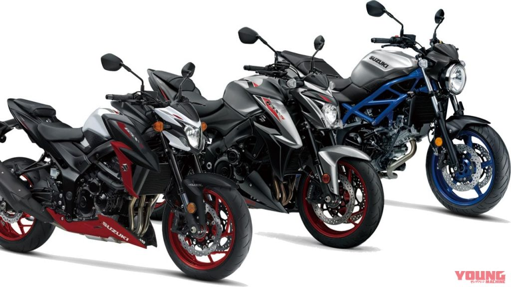 สีสันใหม่ 2020 Suzuki ขนาดเกิน 600 ซีซี ปี 2020