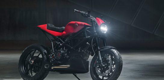 แปลงกาย 2003 Ducati Multistrada 1000 DS ให้กลายเป็นรถ Custom ในแนว Cafe Racer