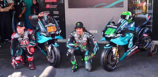 Petronas Yamaha SRT เปิดตัวทีมแข่งอย่างเป็นทางการ