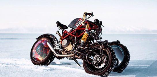 พบกับ Yondu ร่างแปลงสามล้อลุยหิมะของ Ducati Hypermotard ผลงานโดย Balamutti จากประเทศรัสเซีย