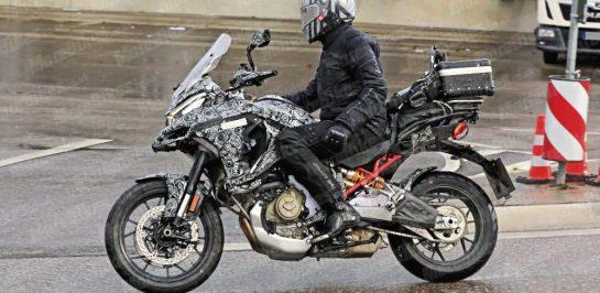 แอบถ่าย Ducati Multistrada V4 เริ่มทดสอบบนท้องถนนแล้ว