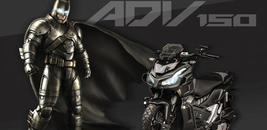 Honda ADV150 เวอร์ชั่น BATMAN สุดเท่!