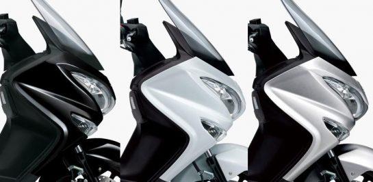 เปิดตัว Suzuki Burgman 200 เวอร์ชั่น 2020 อัพเดทสีสันใหม่!