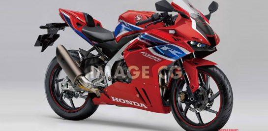 New Honda CBR250RR-R 4 สูบเรียง! เตรียมโต้กลับยักษ์เขียว!!!