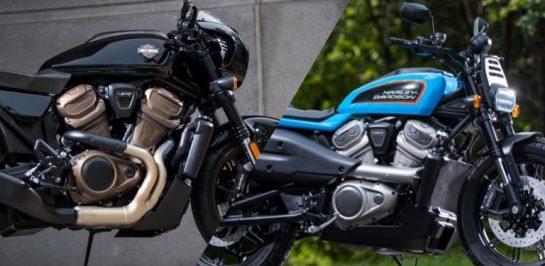 Harley-Davison ยื่นเอกสารจดสิทธิบัตรการออกแบบสองโมเดลใหม่ ในแนวทาง Tracker และ Cafe Racer