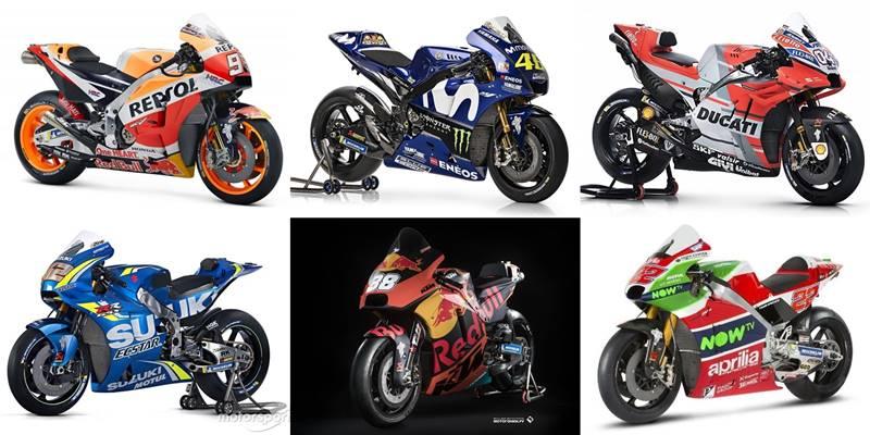 10 ลวดลายรถแข่งสุดปังในประวัติศาสตร์ MotoGP