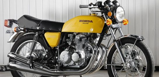 Yamaya นำเสนอชุดท่อไอเสียเสริมประสิทธิภาพให้ 1975-1977 Honda CB400 Four