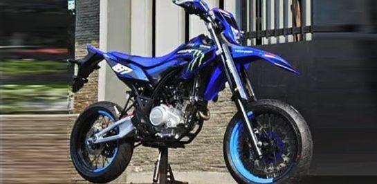 อย่างหล่อ! New Yamaha WR155 เวอร์ชั่น Supermoto!!!