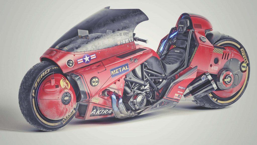 ชมผลงาน Akira Motorcycle Concept ผลงานโดย James Qiu