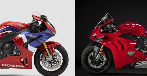 เปรียบเทียบสเปกเครื่องยนต์ 2020 Honda CBR1000RR-R VS 2020 Ducati Panigale V4