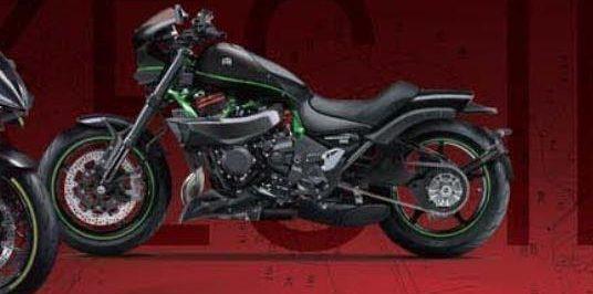 Kawasaki มีแผนเอาเครื่องยนต์ Supercharge ใส่ในรถ Criuser ??